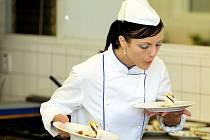Generální zkouška nejlepších kuchařů republiky na mezinárodní soutěž.