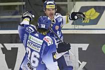 Brněnští hokejisté porazili Kladno 5:3 - Leoš Čermák rozhodl zápas.