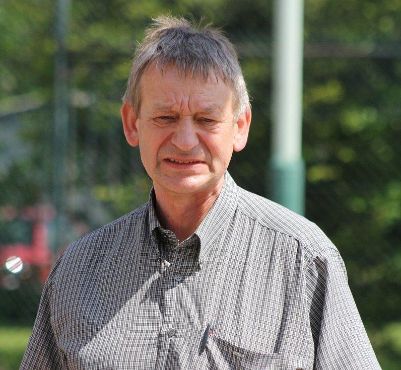 Jiří Pšurný je starostou ve Velké nad Veličkou na Hodonínsku osmadvacet let.