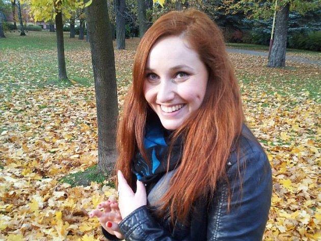 Aneta Říkalová z Charity Brno.