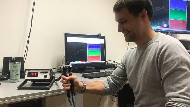Testovaný Lubomír Lazar je jedním z dluhodobě zařazených do výzkumu CELSPAC.
