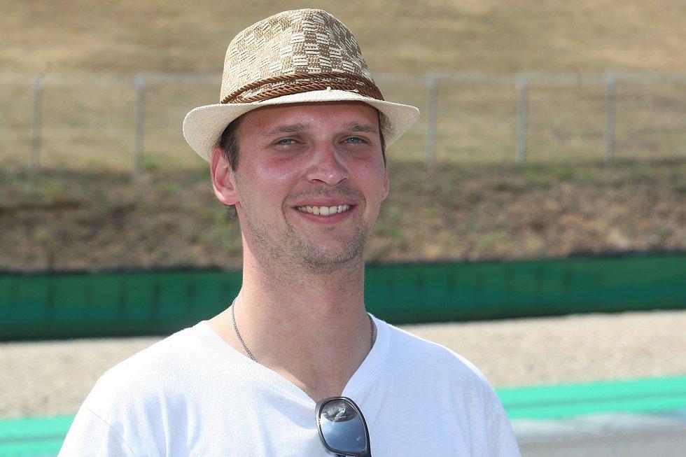 Brno 29.7.2019 - Rozhovor na konci týdne s Davidem Řezníčkem z brněnského automotodromu.