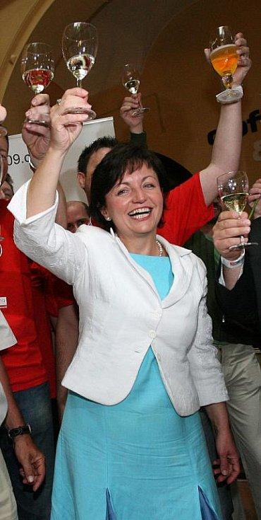 Lídryně TOP 09 Anna Putnová.