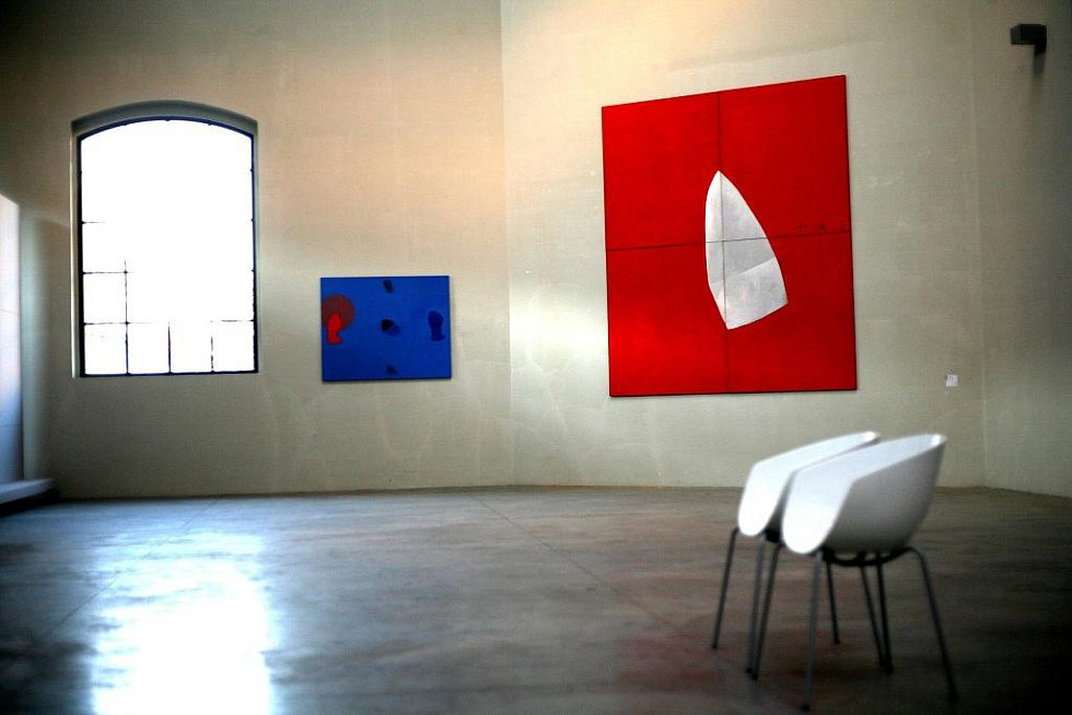 Výstava Česká malba 80. let ve Wannieck Gallery.
