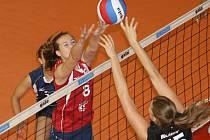 Volejbalistka SG Brno Lucie Herbočková.