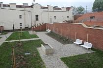 Nově opravené Kapucínské zahrady pod Petrovem.