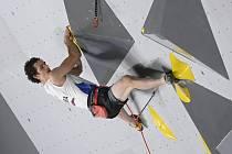 Adam Ondra zvládl kvalifikaci na olympiádě v Tokiu.