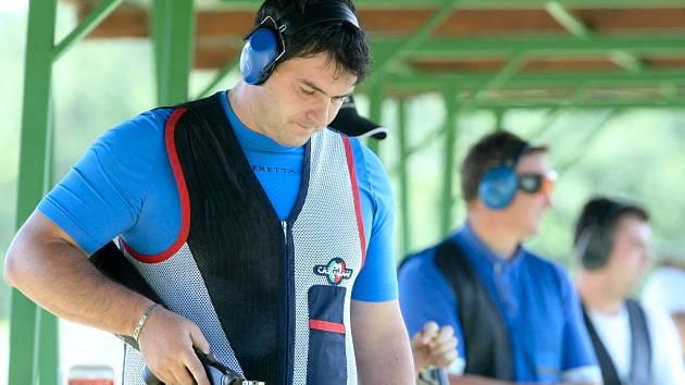 Domácí šampionát ve střelbě v brněnských Soběšicích.