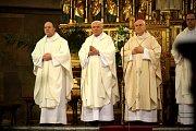 Požehnané Velikonoce věřícím popřál v neděli brněnský biskup Vojtěch Cikrle. Mši, kterou k největšímu křesťanskému svátku vedl v katedrále svatého Petra a Pavla, navštívilo více než pět stovek Brňanů.