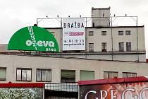Pohled směrem k areálu někdejšího sídla podniku Oseva, Agro Brno v Přízově ulici.