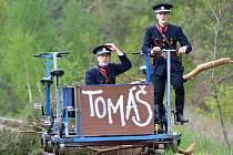Výročí vlečky Tomáš.