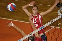 Volejbalistka SG Brno Klára Vyklická.