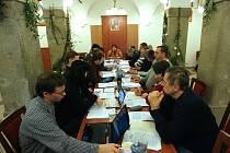 Zasedání medláneckého zastupitelstva.