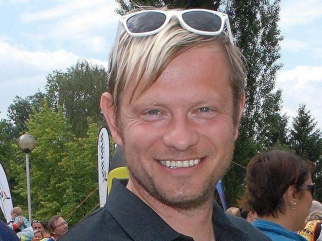 Organizátor nočního běhu Brnem Tomáš Pavel.