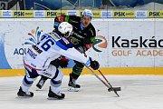 HC Kometa Brno v bílém proti HC Energie Karlovy Vary.
