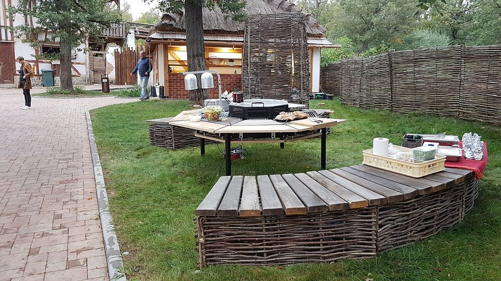 Slavnostní otevření VIP zóny v brněnské ZOO.
