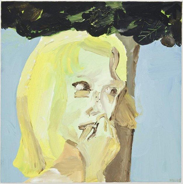 Tvorba předního českého malíře Igora Korpaczewského vystupujícího pod pseudonymem KW je charakteristická dramatickým výrazem vyobrazených figur a jejich odcizení se okolnímu světu - malba Černé listí.