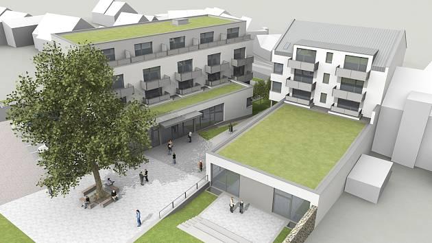 Dva nové domy s třiadvaceti byty vyrostou v brněnských Řečkovicích. Jejich výstavba začne příští rok.