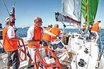 Z vítězství se ve třídě Elan 350 radovala brněnská posádka Hyveco s kapitánem Janem Hykrdou.