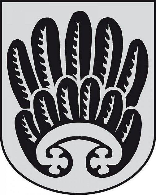 Současný znak města Kuřimi.