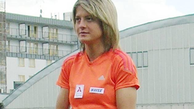 Atletka Lenka Masná