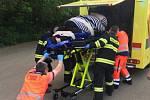 Dvě stě padesáti kilovou ženu převáželi tento týden sanitkou krajští záchranáři.