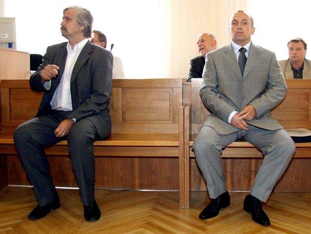 Obžalovaní  Tibor Fiala a Petr Steiner