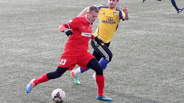 Zbrojovka hrála proti Dunajské Stredě.