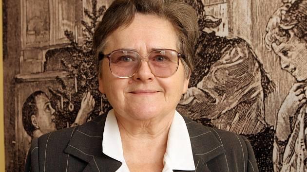 Etnografka Eva Večerková.