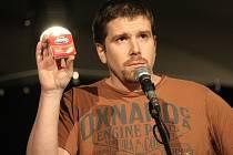Stand up komik a publicista Pavel Tomeš.