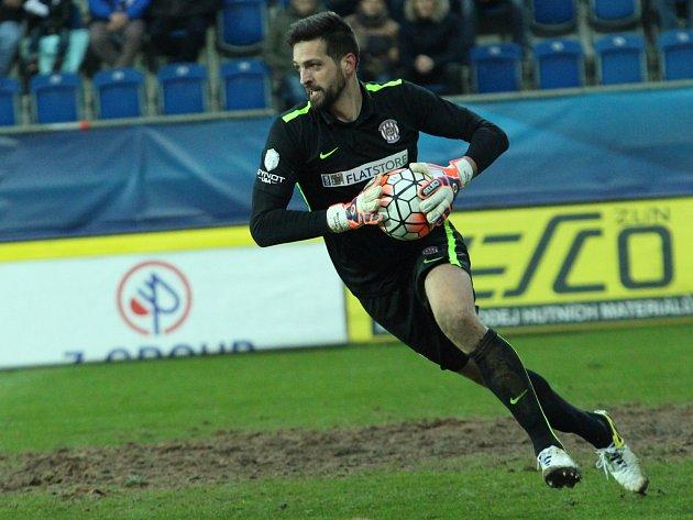 Fotbalový brankář Dušan Melichárek.