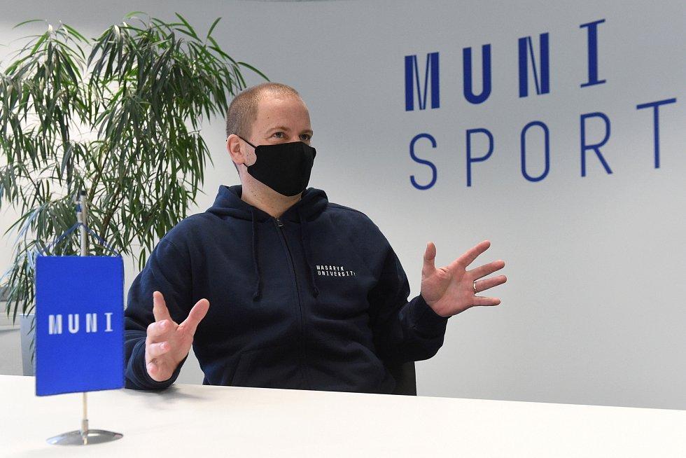 Jan Cacek, děkan Fakulty sportovních studií Masarykovy univerzity.