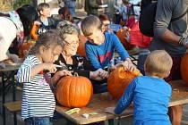 V brněnské zoo se konala oblíbená halloweenská akce. Lidé vyřezali pět set dýňových bubáků, děti se zabavily při tématických hrách.