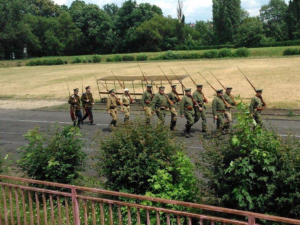 Oslavy stoletého výročí první světové války 28. června 2014 v Brně.