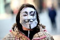 Na jižní Moravě se protesty proti ACTA konaly také ve Znojmě, kde se jich zúčastnilo asi padesát lidí.