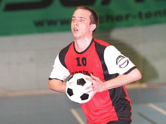 Trenér Jakub Máša.