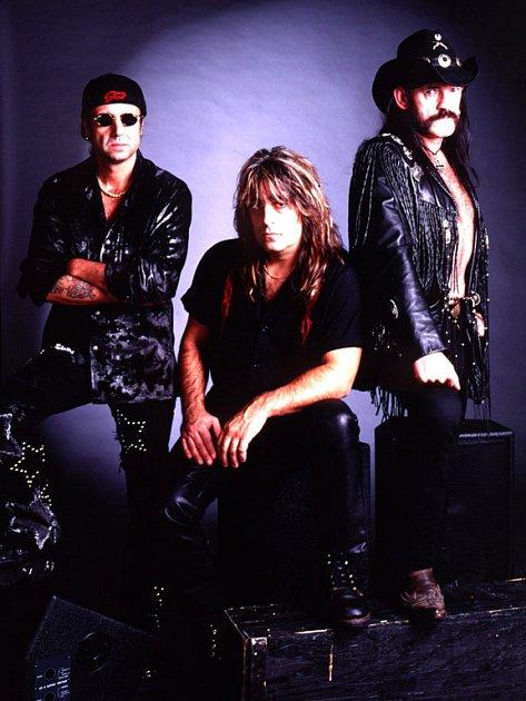 Britská hardrocková skupina Motörhead.