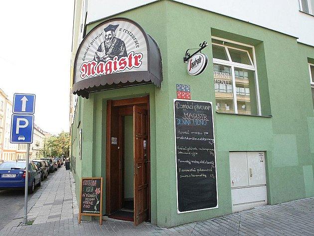 Brněnská restaurace Magistr.