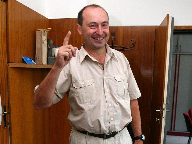 Ředitel pro správu povodí Moravy Antonín Tůma.