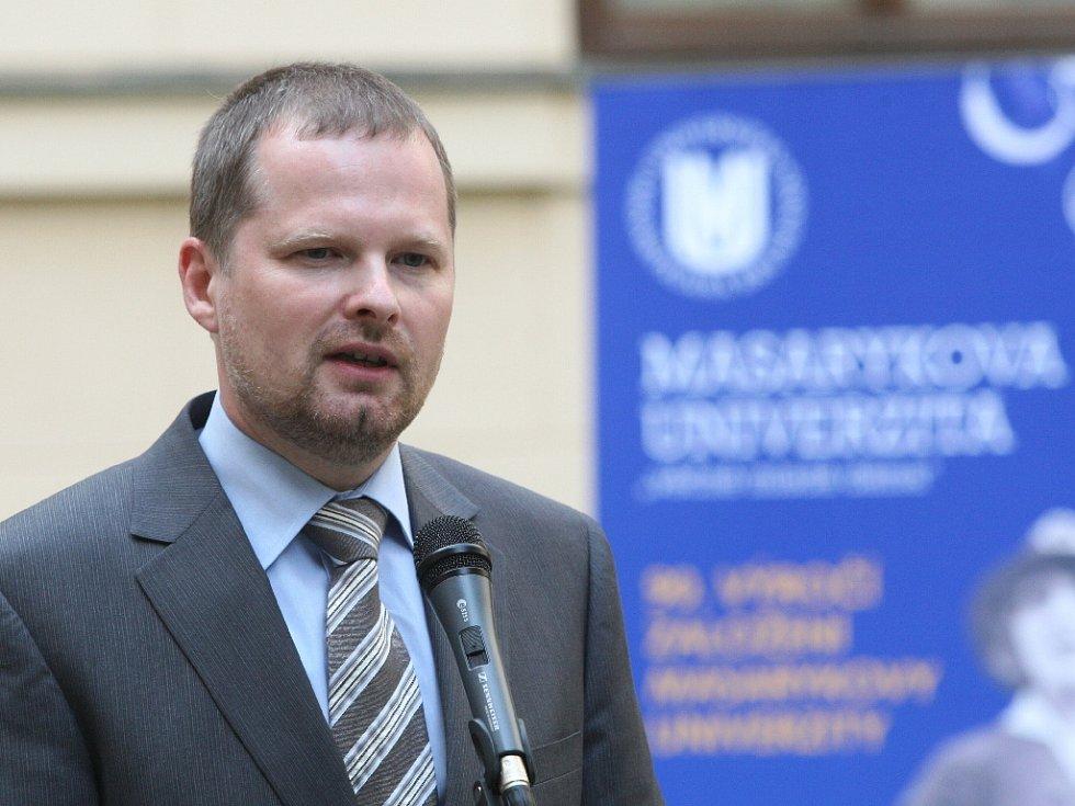 Exministr školství Petr Fiala.
