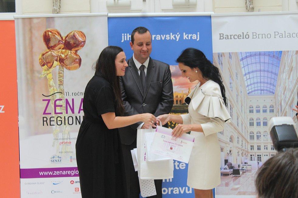 Vítězka Alice Tobiášová.
