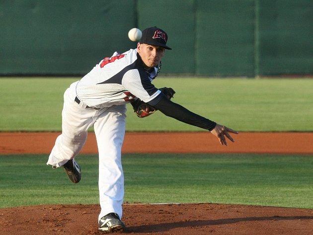 Čeští baseballisté v utkání s Tchaj-wanem.