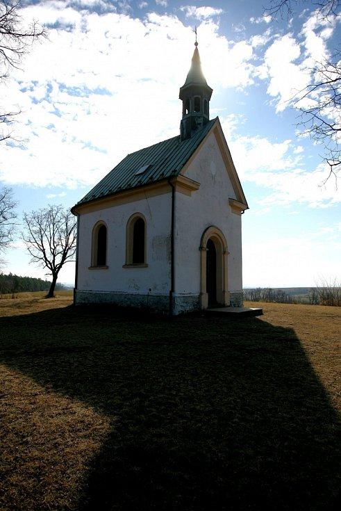 Odpočinková lokalita Kostelíček na okraji brněnské Líšně. Rozšíření stavebních míst v okolí odmítají tamní obyvatelé.