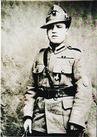 Cyril Nosál, italský legionář.