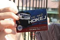 Zahájení prodeje vstupenek na nadcházející sezonu hokejistů brněnské Komety.