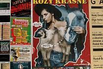 Plakát westernového městečka