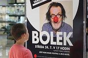 Bolek Polívka v Brně pokřtil knihu Bolek sepsanou u příležitosti jeho sedmdesátých narozenin.