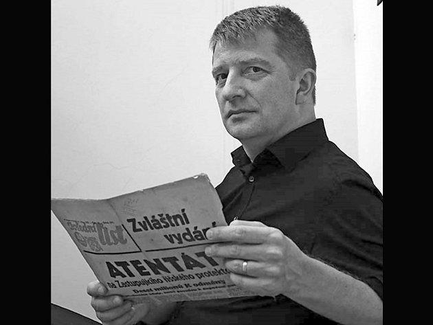 Spisovatel Jiří Padevět, který na festivalu vystoupí 10. července, získal letos cenu Magnesia Litera.