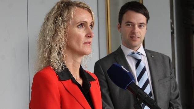 Jihomoravská ČSSD má novou předsedkyni. Krajskou organizaci povede brněnská zastupitelka Naděžda Křemečková.