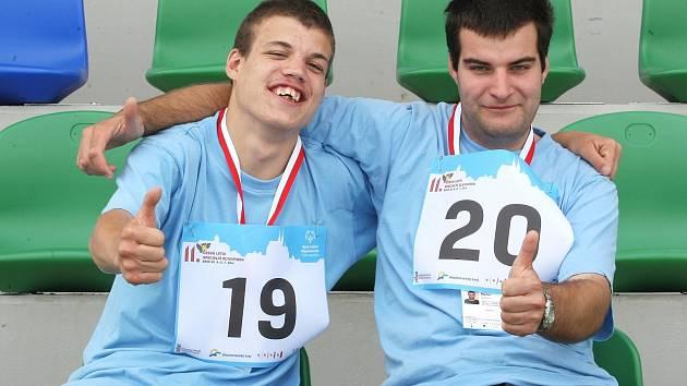Sportovci Jan Mihalik a Ondřej Martin (zleva).